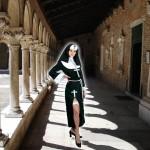 costume et déguisement de bonne soeur couvent curé