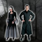 Costume et déguisement de gothique noir