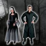 costume et deguisement de gothique halloween