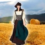 Costume et déguisement de paysanne servante