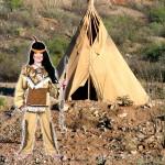 costume et deguisement de Indien enfant