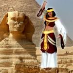 Costume et déguisement de egypte egyptienne néfértiti cleopatre pyramide nil sphynx