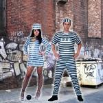 costume et deguisement de prisonnier prisonniere