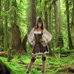 Costume et déguisement de robin des bois femme peter pan vert