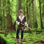 Costume et déguisement de robin des bois peter pan vert foret