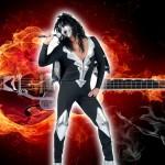 costume et deguisement de rocker hard rock marylin manson
