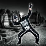 costume et deguisement de squelette halloween